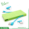 Dual-Port Portable Charger External Battery Pack Backup 4500mAh Power Bank with LED Display