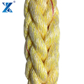 Marine equipment Polypropylene and Polyester mooring rope manufacturer