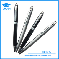 Top 2in1 ballpoint pen Capacitive Touch Screen Stylus with Ball Point Pen for iPad iPhone iPod