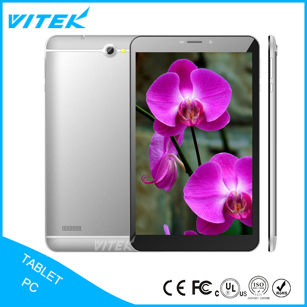 Ultra Slim MTK Quad Core 8 inch 4G Tablet LTE