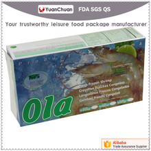 Eco Friendly OEM Custom Logo Frozen Food Box Packaging Boxes