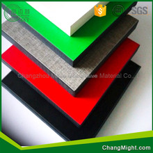 First-Class Decorative Sheet anti-impact woodgrain construction leather 3d compact laminate HPL sheet