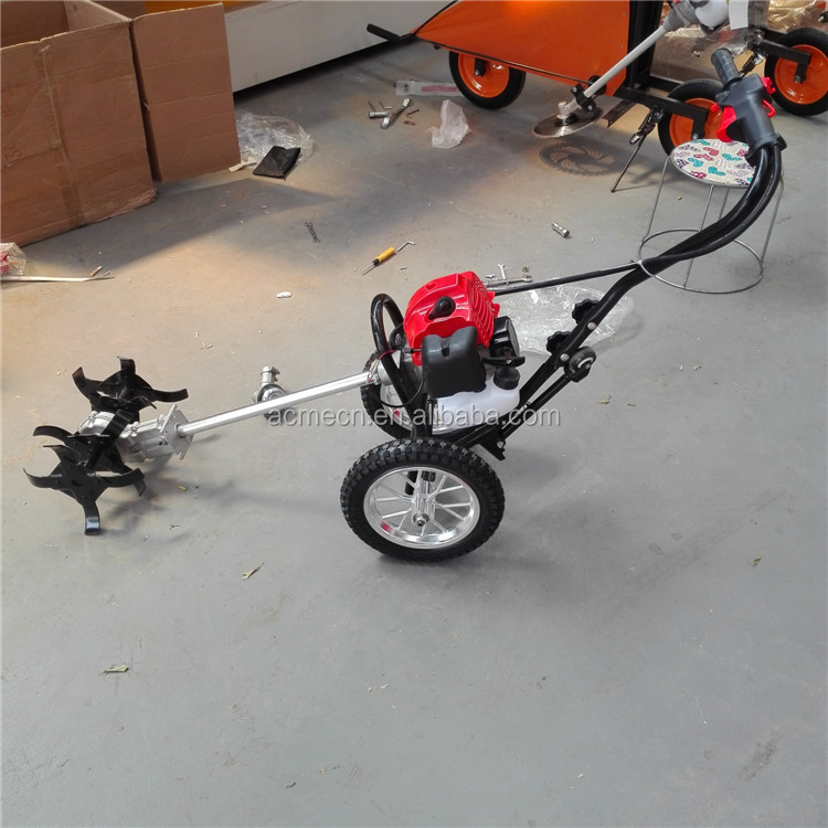 Brush cutter mower rotary weeder paddy hand weeder machine