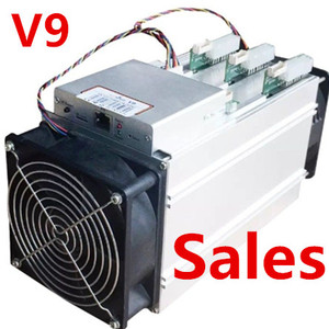 New Bitmain Antminer V9 4TH Bitcoin Miner BTC BCH not S5 S7 S9 IN HAND