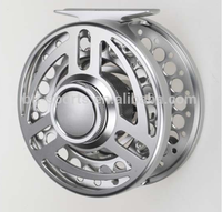 Strong resistance system waterproof aluminum fly fishing reel(a)