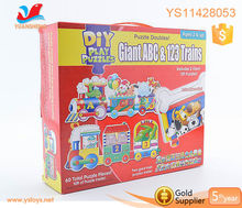 New baby games diy jigsaw puzzle with education toys