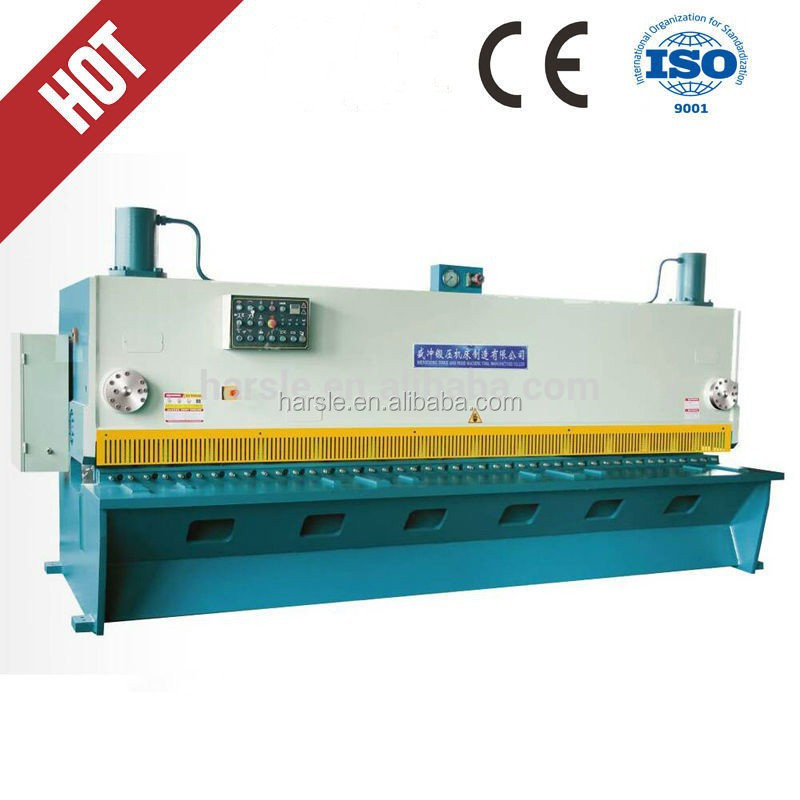 QC11series hydraulic guilloting shearing machine tools/Powerful Metal cutting machine