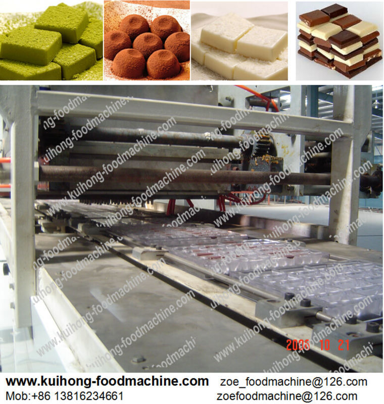 automatical chocolate depositing processing machines