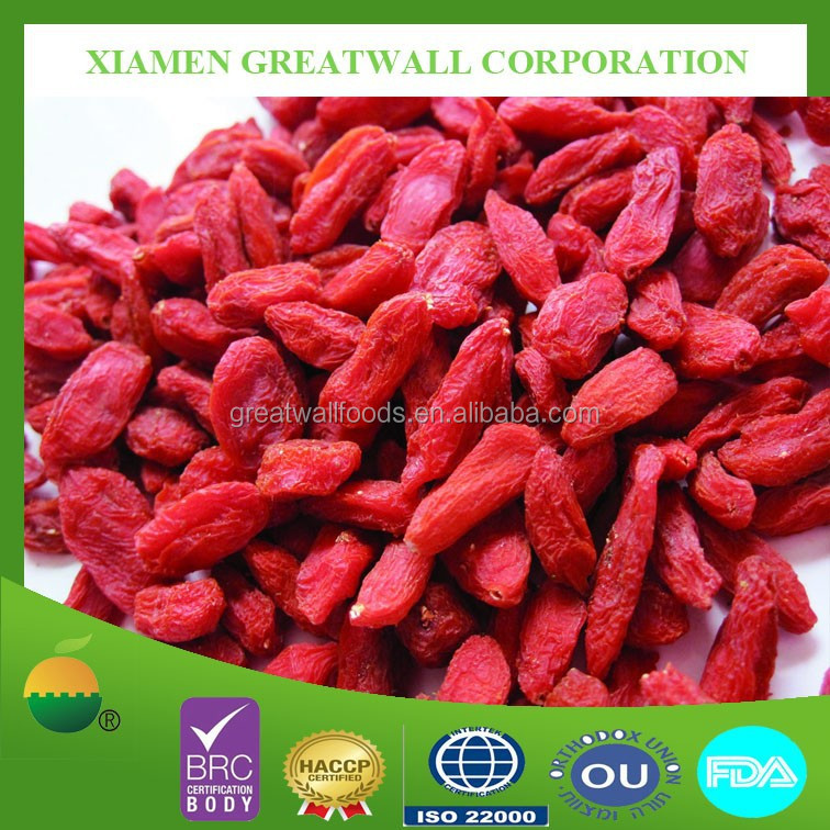 High quality dried goji berries with best price/ natural goji berry
