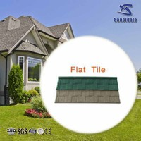 best price aluminum zinc plate colorful stone coated metal roofing tile, China factory stone coated steel roofing tiles