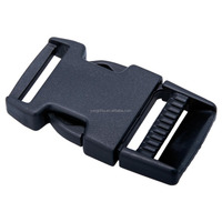 "1"" Belt Plastic Slide both side release buckle for handbag dog leash"