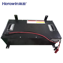 deep cycle 72V 100Ah customized lifepo4 li ion energy storage power battery pack for EV electric tricycle car marine forklift