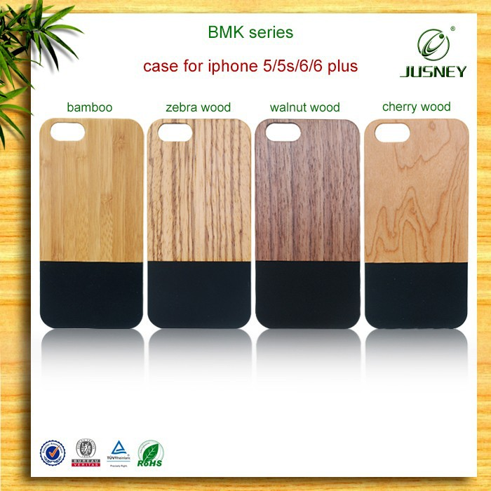 Unique popluar natural hard wood carve custom designs cover case for iphone 4 5 6