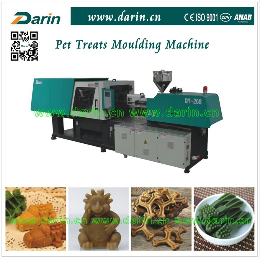 China Supplier Oem Pet Dental Care Moulding Dog Treats Injection Moulding Machine