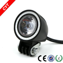 New 10W 12/80V 4x4 CYT yellow Angel eyes Car Off road Led Light