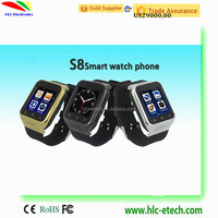 NEW WCDMA 3G WIFI GPS SIM CARD SMART WATCH ANDROID DUAL SIM PHONES