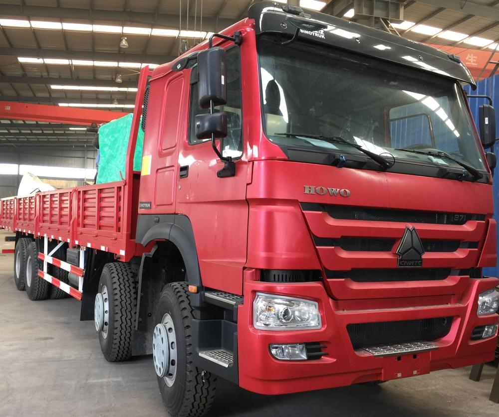 SINOTRUK HOWO heavy duty 371HP steyr engine 4x4 cargo <strong>truck</strong>