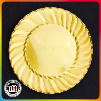 Disposable Round PS Plate Party Use