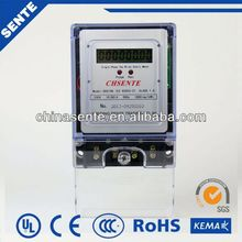 DDS196 Type single-phase bypass electric meter electrical watt-hour meter pulse counter