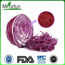 Discount euterpe oleracea powder acai berry powder red cabbage extract 5:1 with high quality