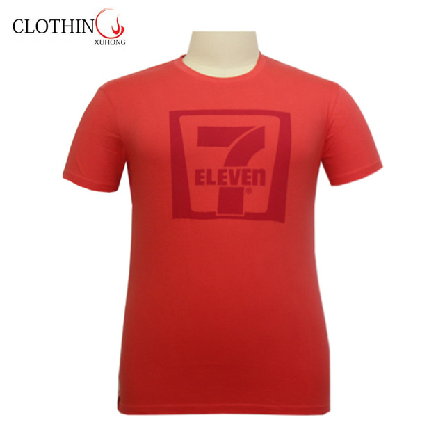 Wholesale Custom All Kinds of Size Printing LOGO Round Neck T Shirt