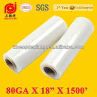PE Manual Pallet Stretch Wrap Film for Pallet Wrapping