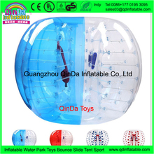 Most crazy sport outdoor adult bumper ball giant human bubble ball for football