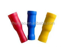 Male bullet joint bullet shaped female full insulation terminal