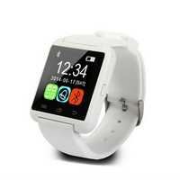 "2015 1.48"" Capacitive Touch Screen gsm wrist phone Bluetooth smart watch U80 supporting smart phone and multi languages"