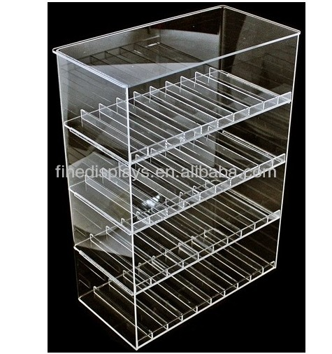 Acrylic Clear E-Juice display Case (AD-F-0104)