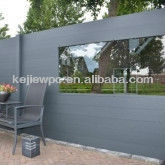 Wood Plastic Composite Board Garden Fence WPC Fence WPC Door