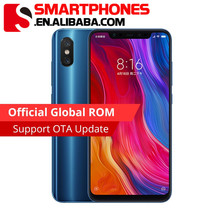 Original Xiaomi Mi 8 Mi8 <strong>Mobile</strong> <strong>Phone</strong> 6GB RAM 64GB ROM Snapdragon 845 Octa Core 6.21; 18.7:9 Full Screen 20MP Front Camera NFC