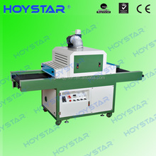 screen printing used uv dryer with conveyor belt