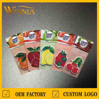 new design initial fruit and vegetable air freshener