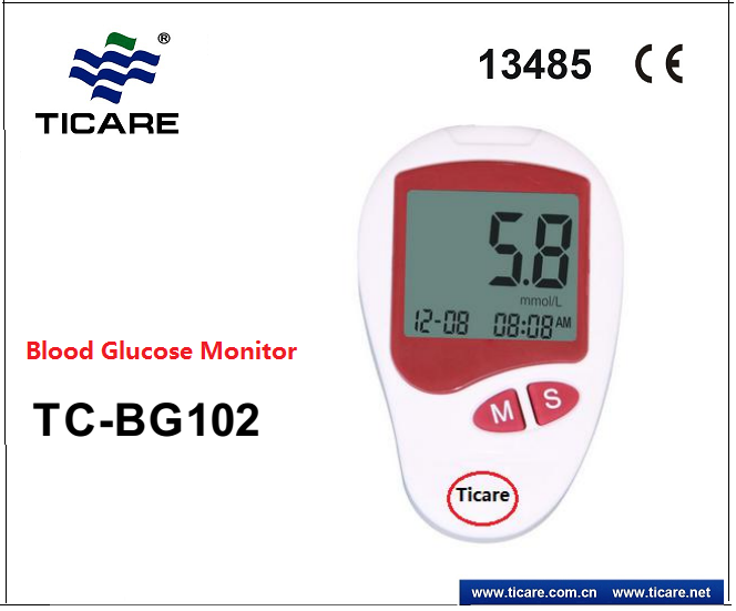 Portable Blood Glucose Monitor