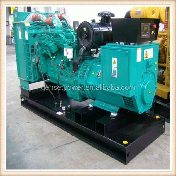 100kw Three Phase 50hz 400v 125kva Diesel Generator With 6BTA5.9-G2 Cummins Engine