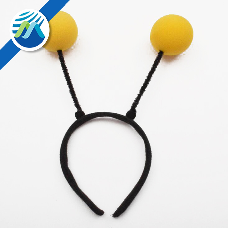 New Arrival Children's day Carnival Party Sponge Ball Bee Headband