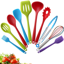 Hot Sell Colorful Design Modern Cheap Christmas Silicone Egg Cooking Utensil Light Silicone Kitchenware