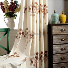 High Grade Embroidery Model Turkish Organza Curtain,New Design Organza Embroidery Ready Curtain