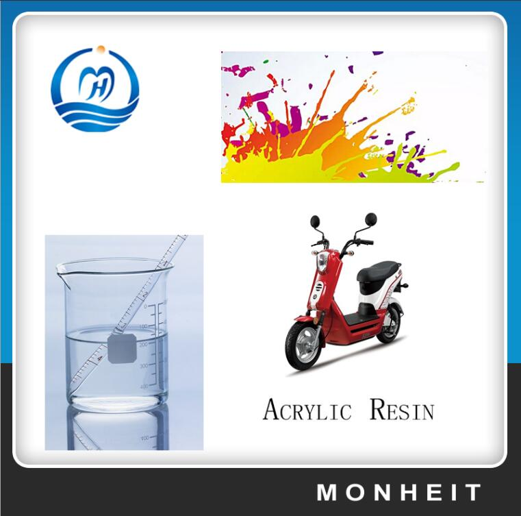 Water Based Transparent Thermosetting Acrylic Resin For Paint