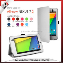 for google nexus 7 book leather case OEM manufacturer