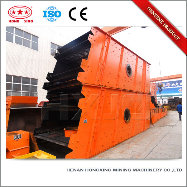 Mining industrial quartz sand vibrating rectangular screening machine