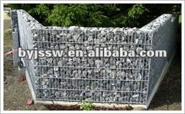 Rock Filled Gabion Baskets for Sale