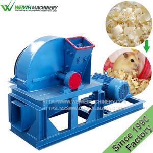 Weiwei machinery wood shavings crushing machine/wood shaving machine for horse bed with ce biomass fuel pellet baling bagging