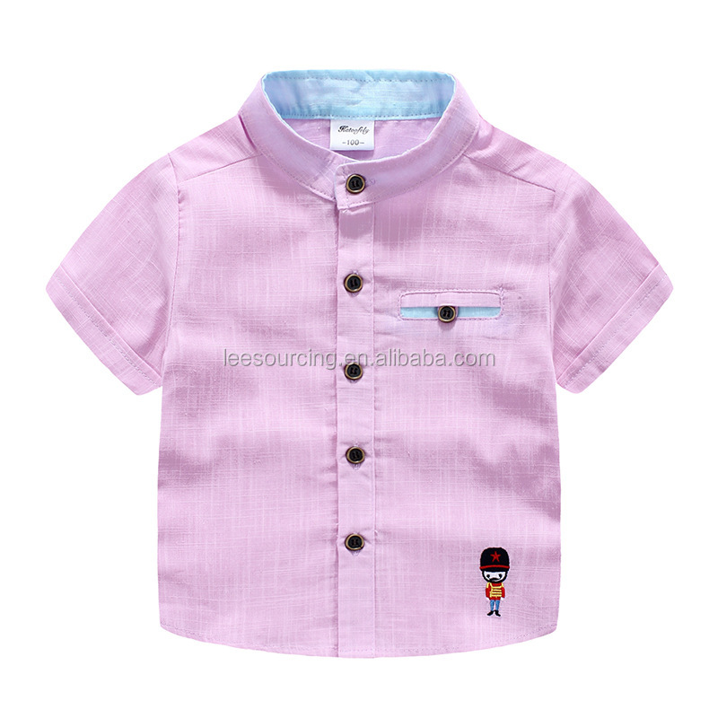 Wholesale baby embroidery t-shirts bamboo joint cotton fabric baby boy t shirts