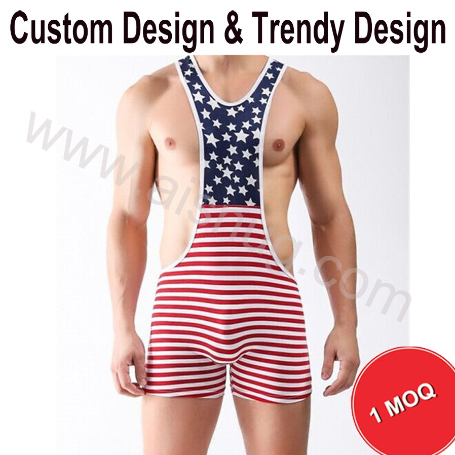 sexy women wholesale Custom wrestling singlet without MOQ