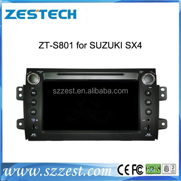 Car dvd gps navigation system for Suzuki SX4 accessories