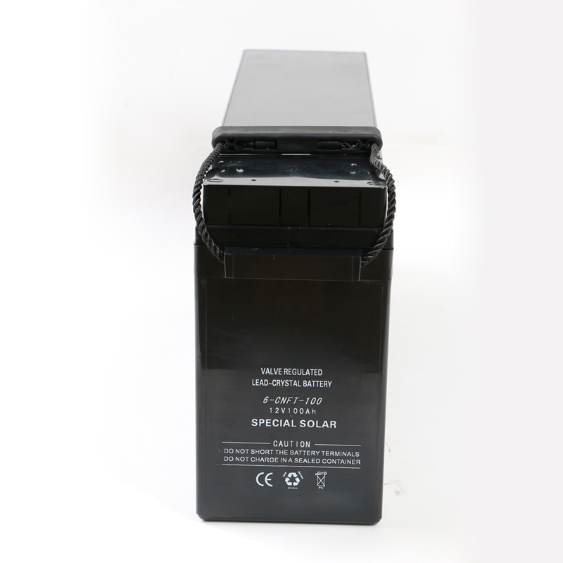 12V 24V 100ah dry cell deep cycle battery with 12v 100ah solar panel home