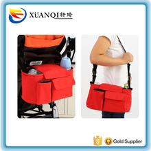 Customize Baby Stroller Hanging Bags Cart Pram Side Bottle Diaper Bag