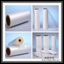 Tranparent original PE plastic roll film, LLDPE film in roll, Dows resin blowed PE film